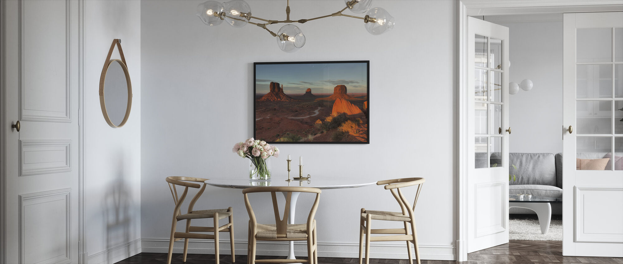 Colorado Plateau - Framed print - Kitchen