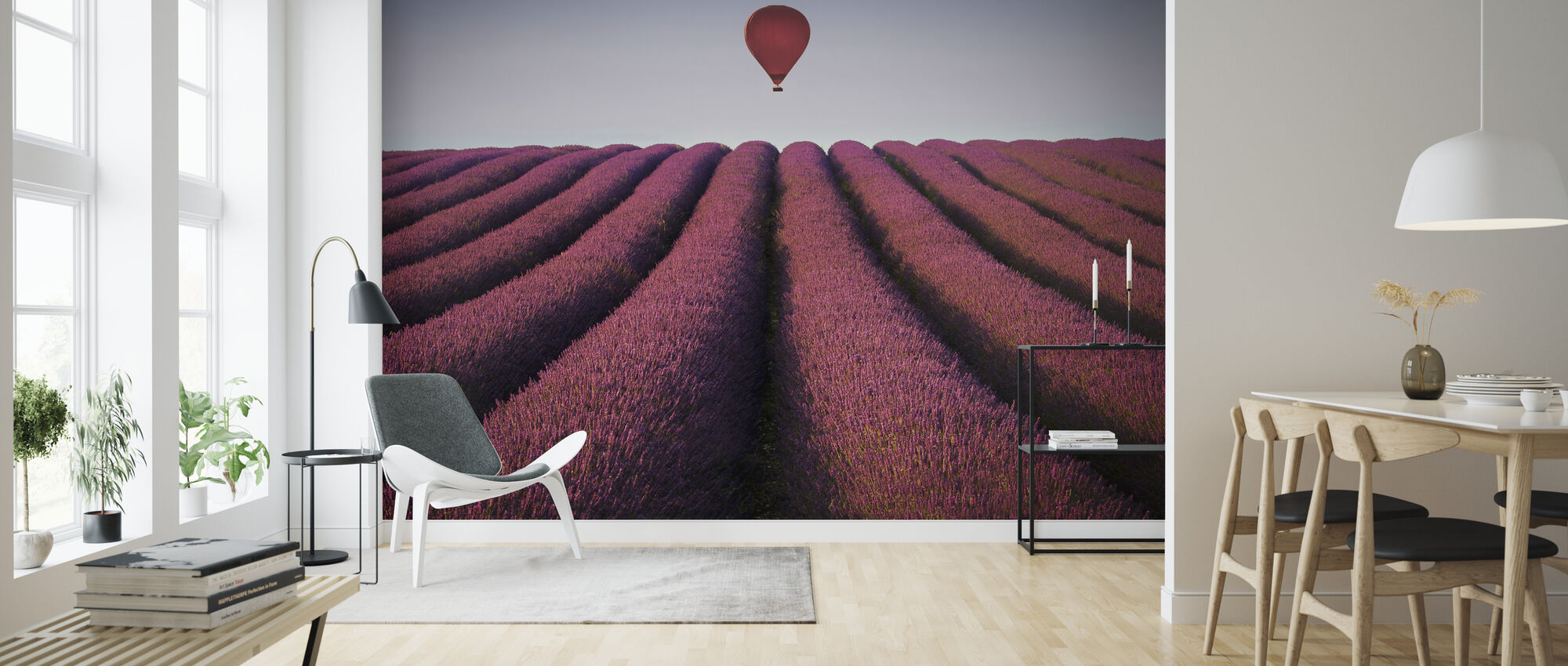 Flying High - Wallpaper - Living Room