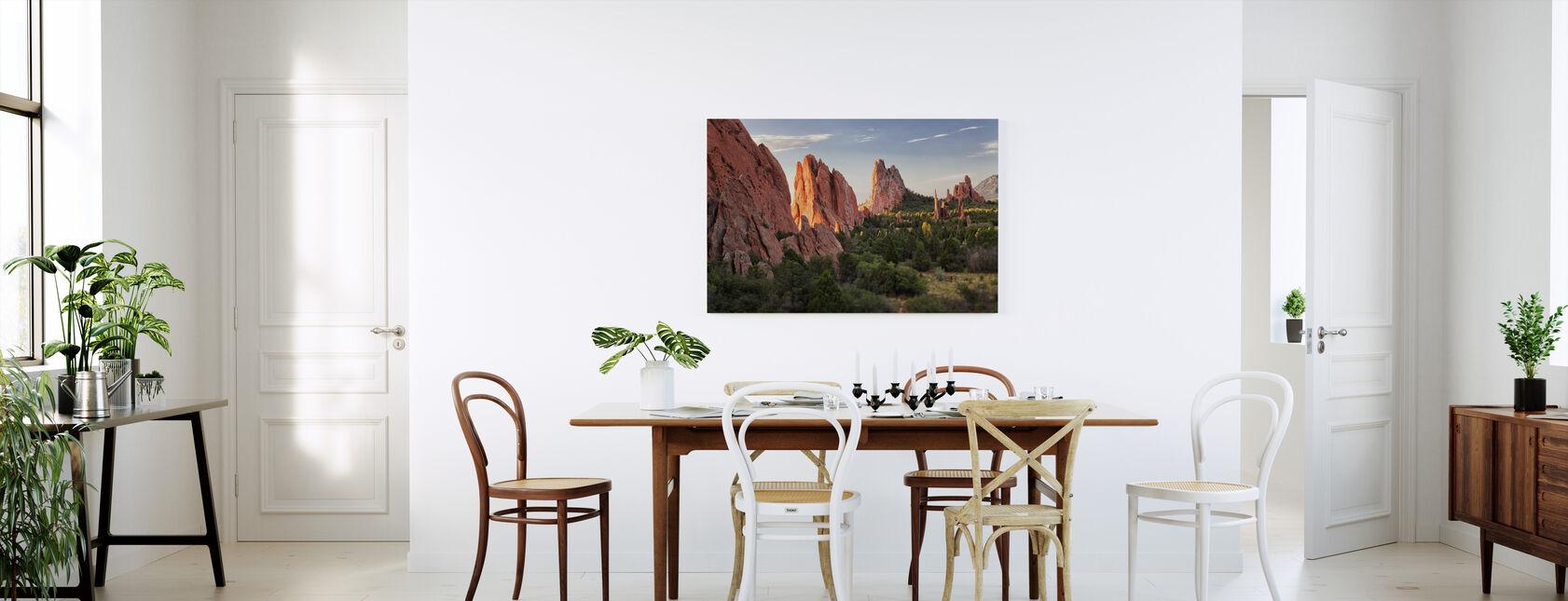 Garden of Goden, Colorado Springs - Canvas print - Keuken