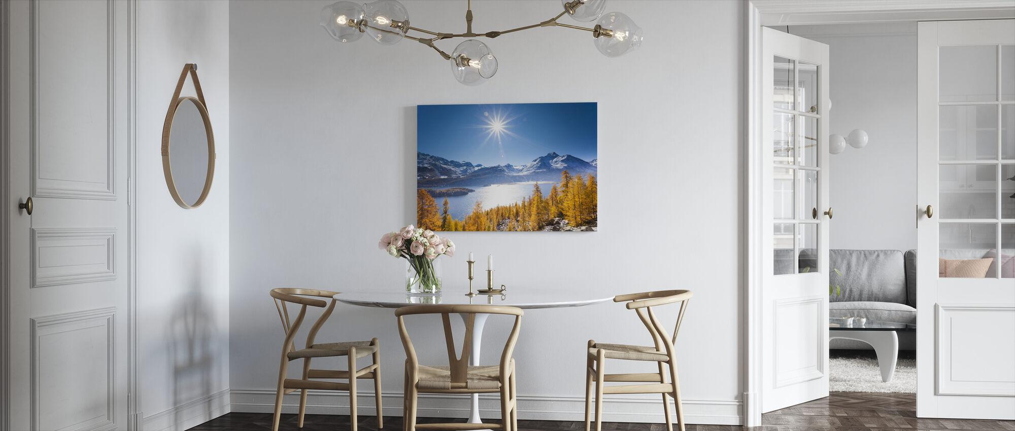 Graubunden, Schweiz - Canvastavla - Kök