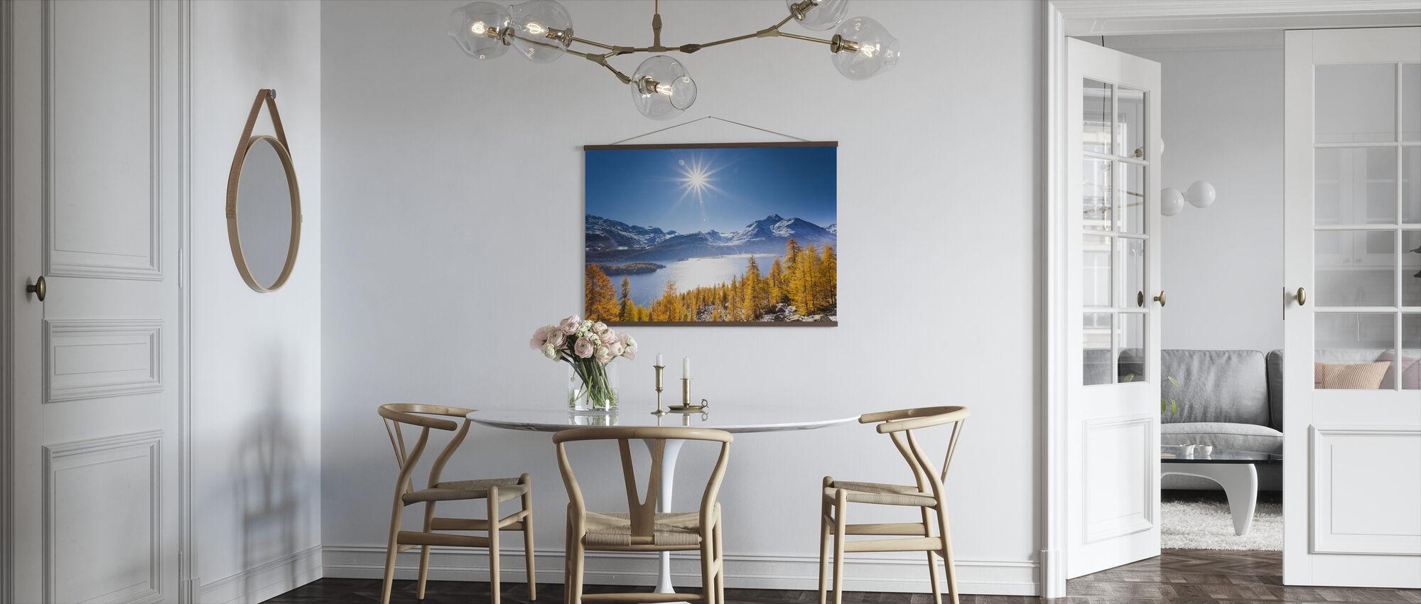 Graubunden, Sveits - Plakat - Kjøkken