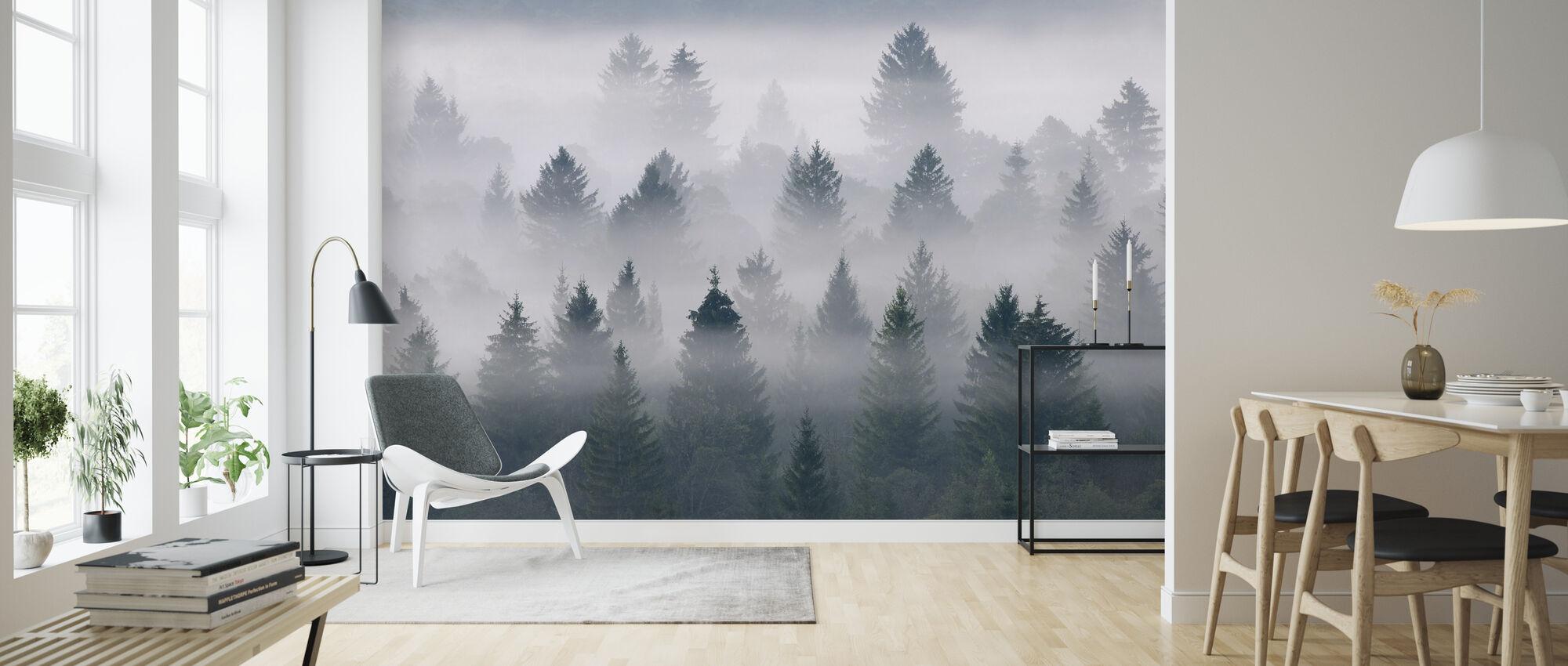 Isar Valley - Wallpaper - Living Room
