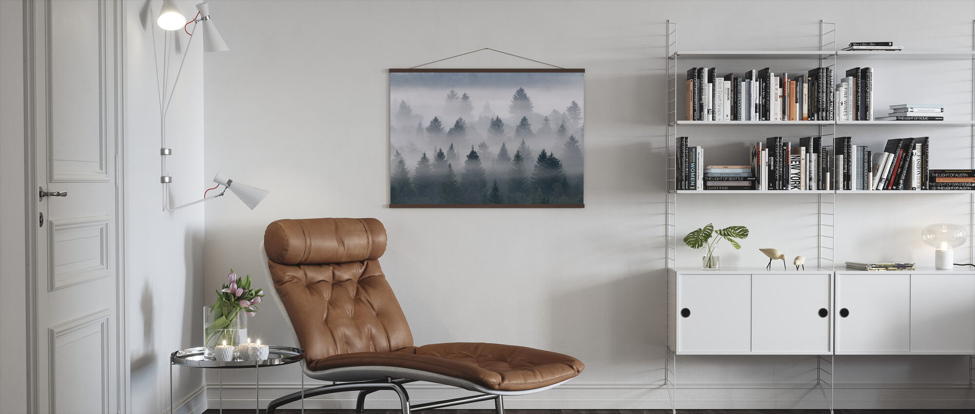 Isar Valley - Poster - Living Room