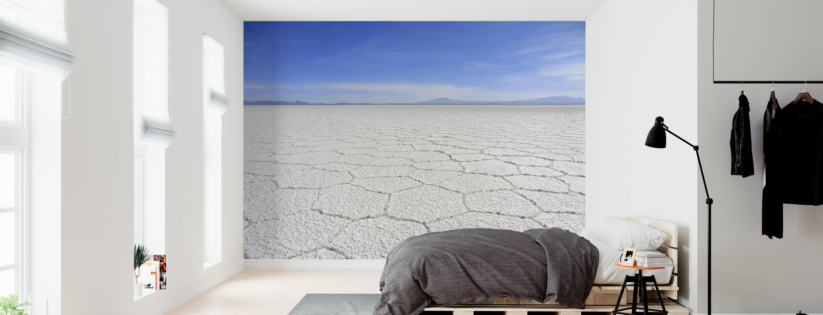 Salt Desert - Wallpaper - Bedroom