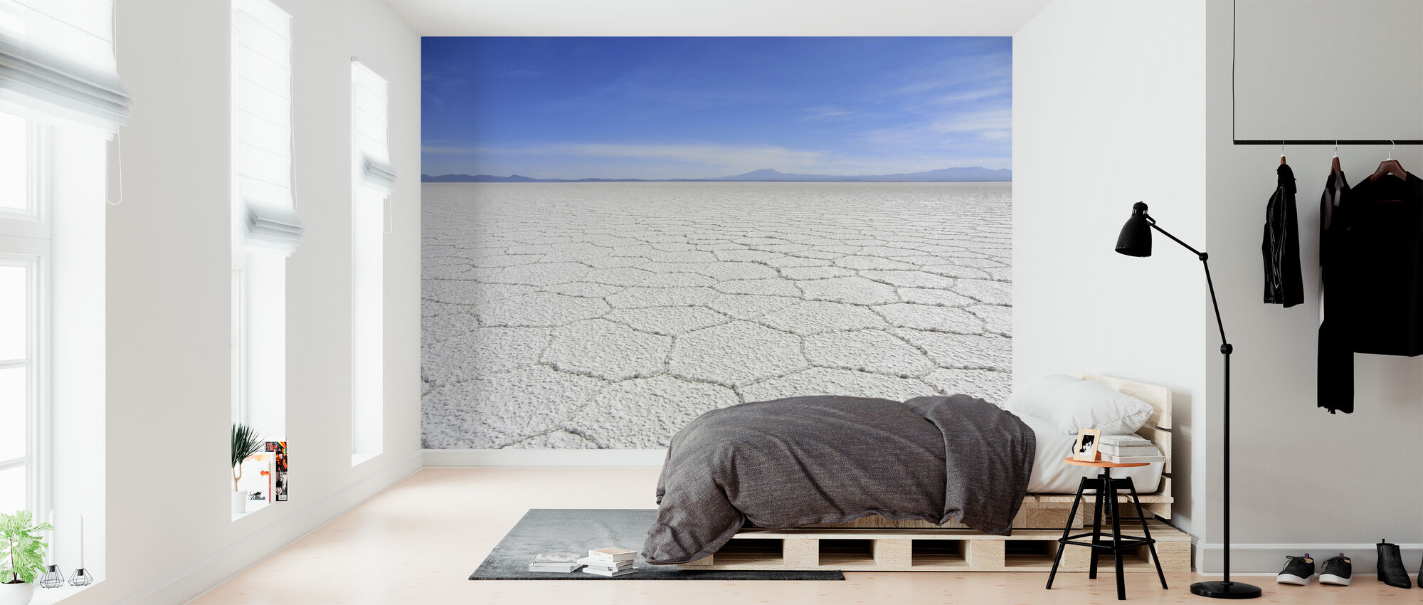 Salt Desert - Wallpaper - Bedroom