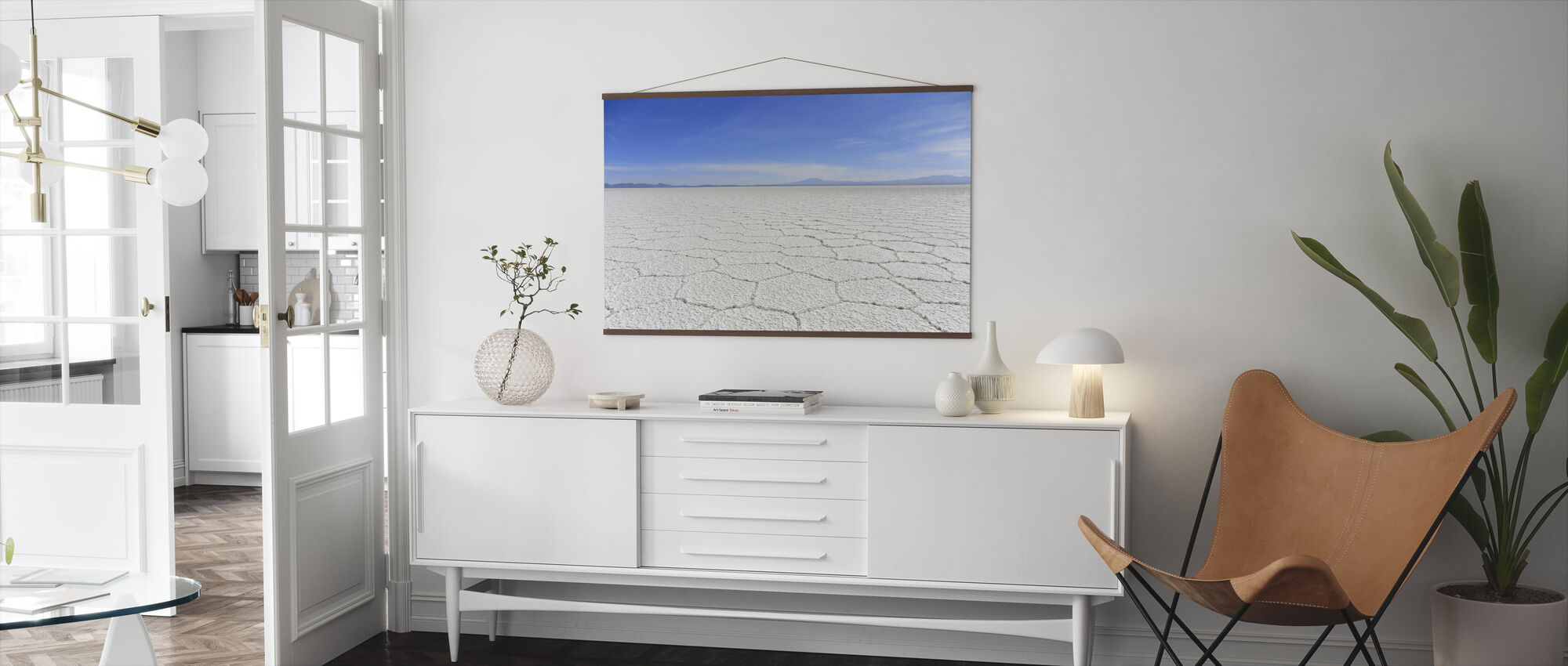 Salt Desert - Poster - Living Room