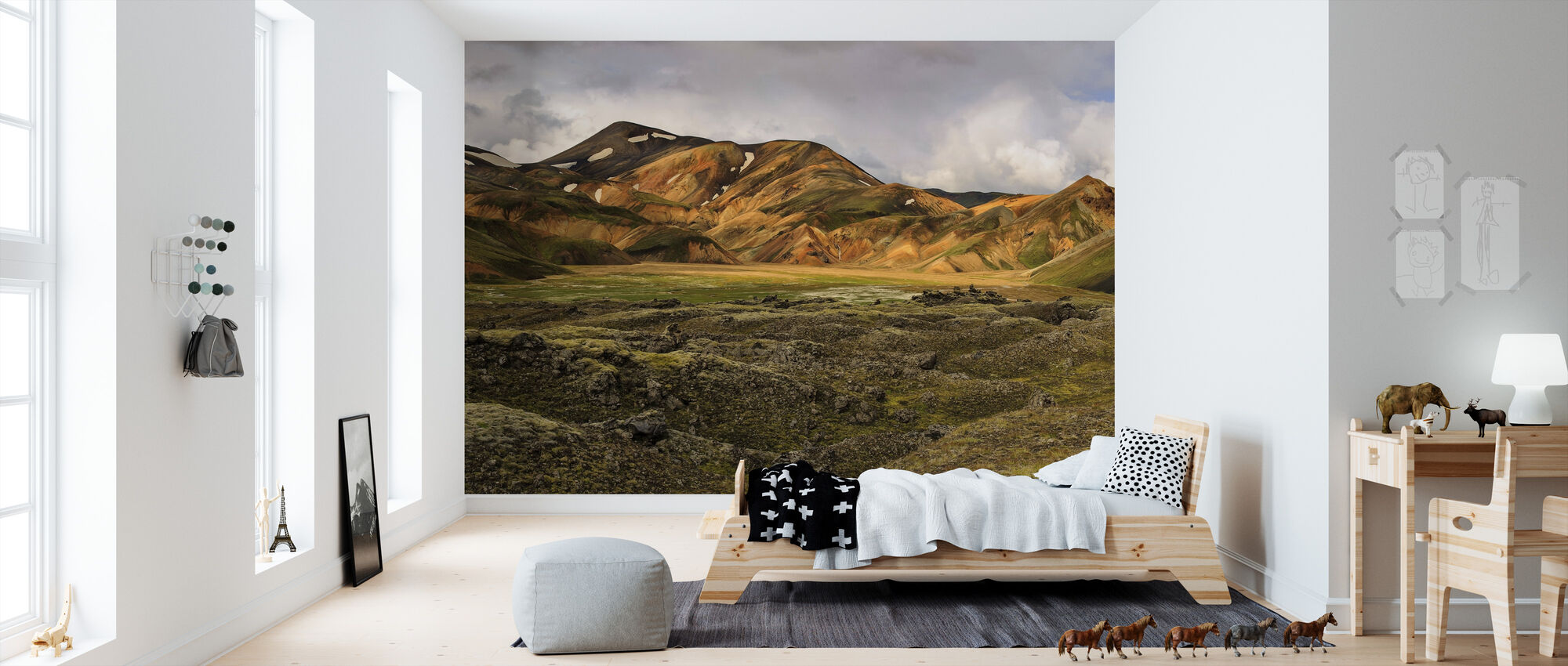 sulfur tinted highlands fototapete nach ma photowall. Black Bedroom Furniture Sets. Home Design Ideas