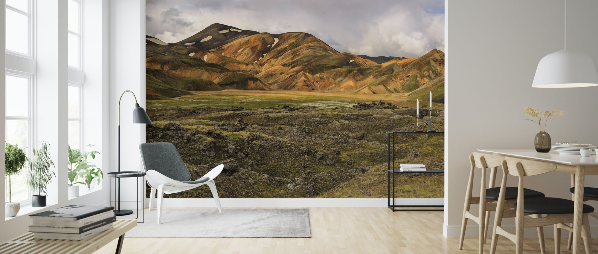 Sulfur Tinted Highlands - Wallpaper - Living Room