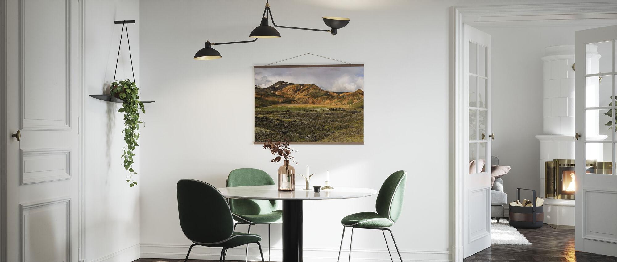 Svovel Tonet høylandet - Plakat - Kjøkken