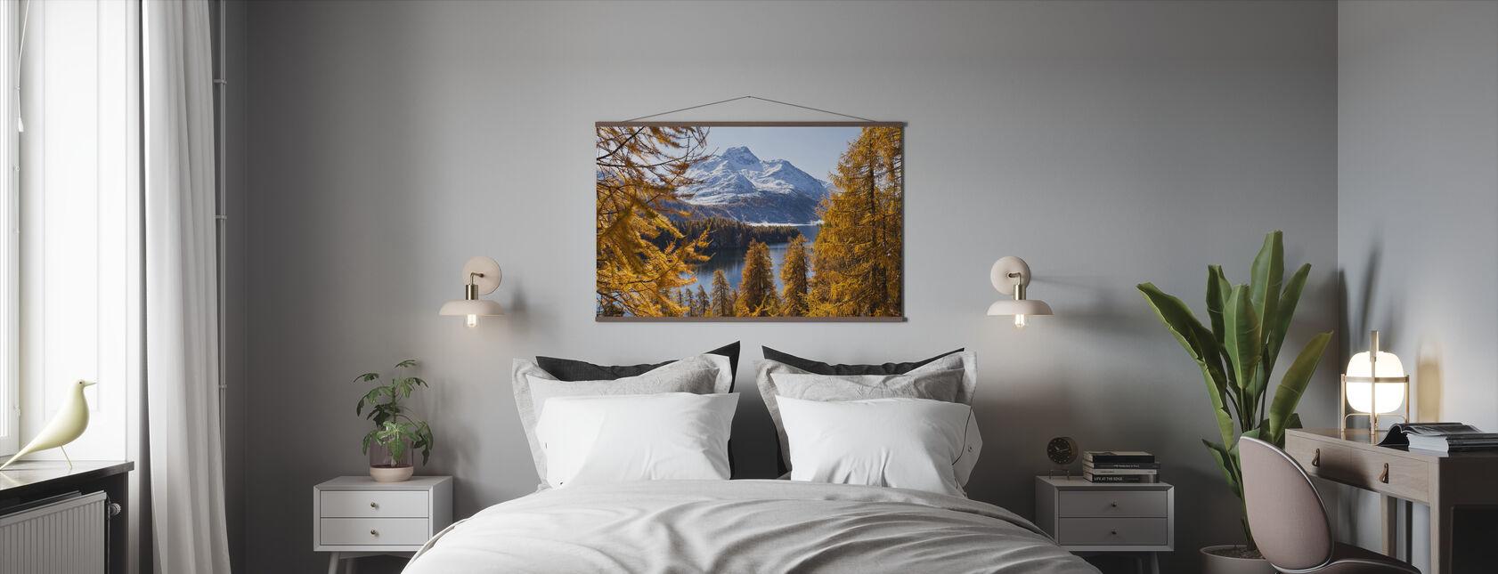 Zwitserse Lariks Bomen - Poster - Slaapkamer
