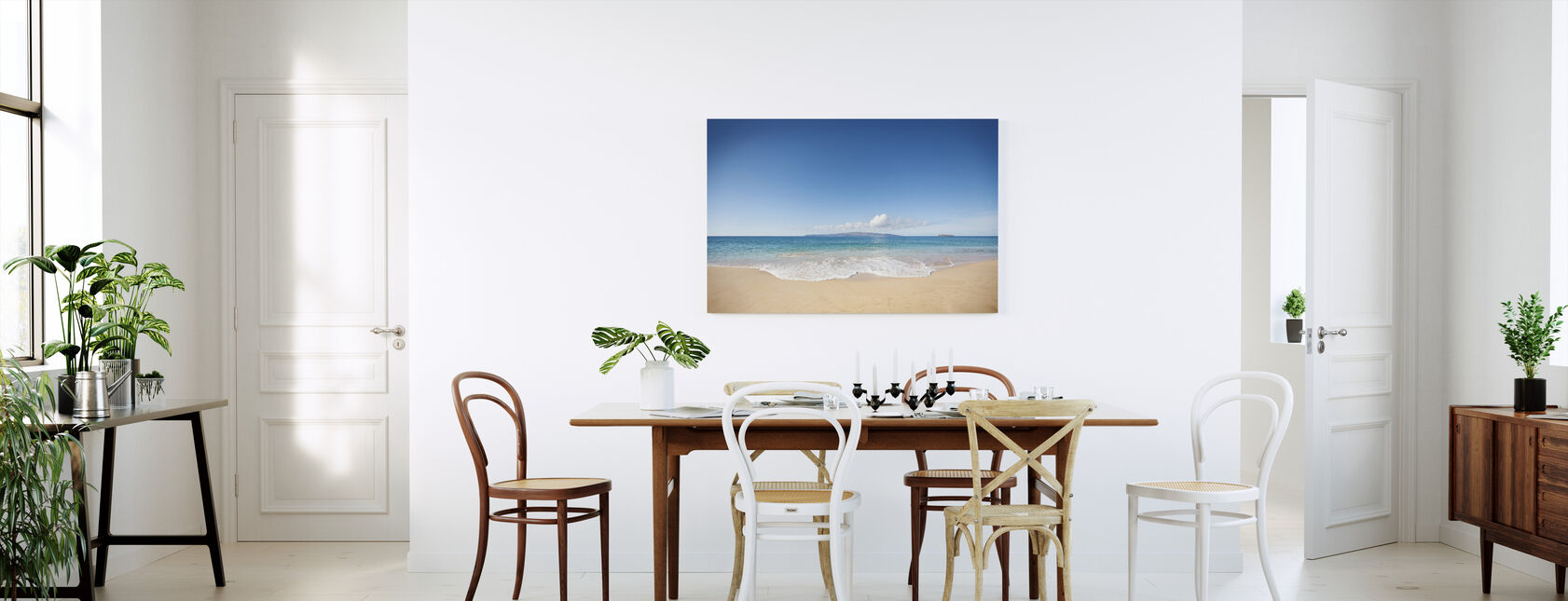 Wave - Canvas print - Kitchen