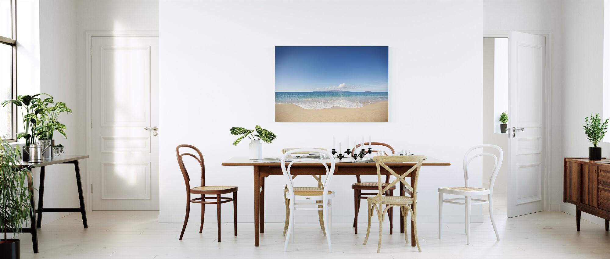 Wave - Canvas print - Kitchen
