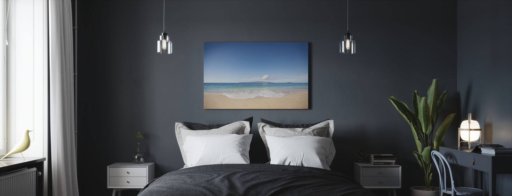 Wave - Canvas print - Bedroom