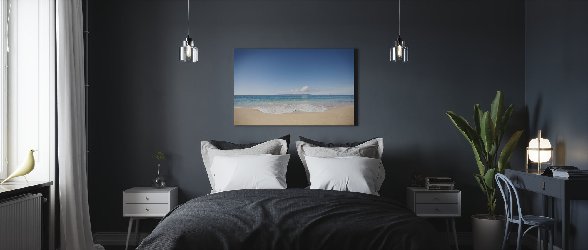 Wave - Canvas print - Bedroom