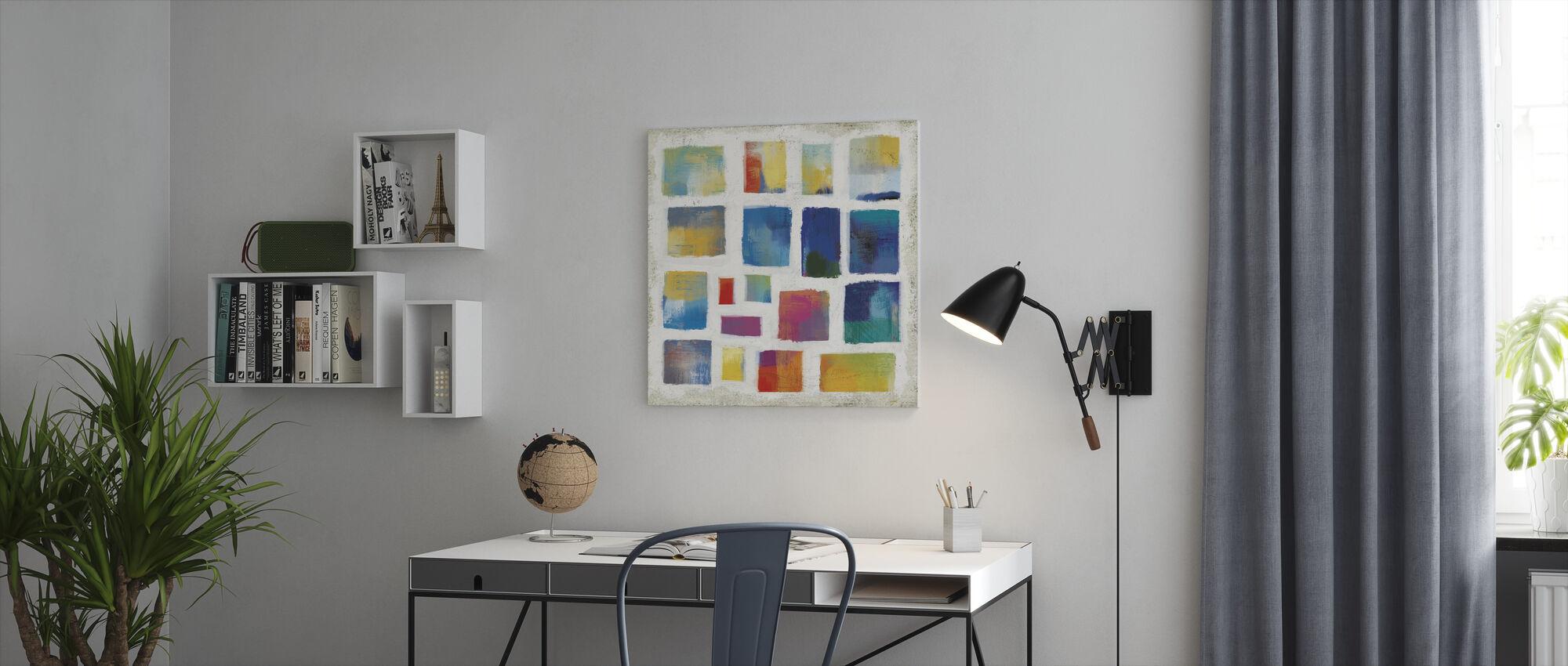 Vibrations Square - Canvas print - Office