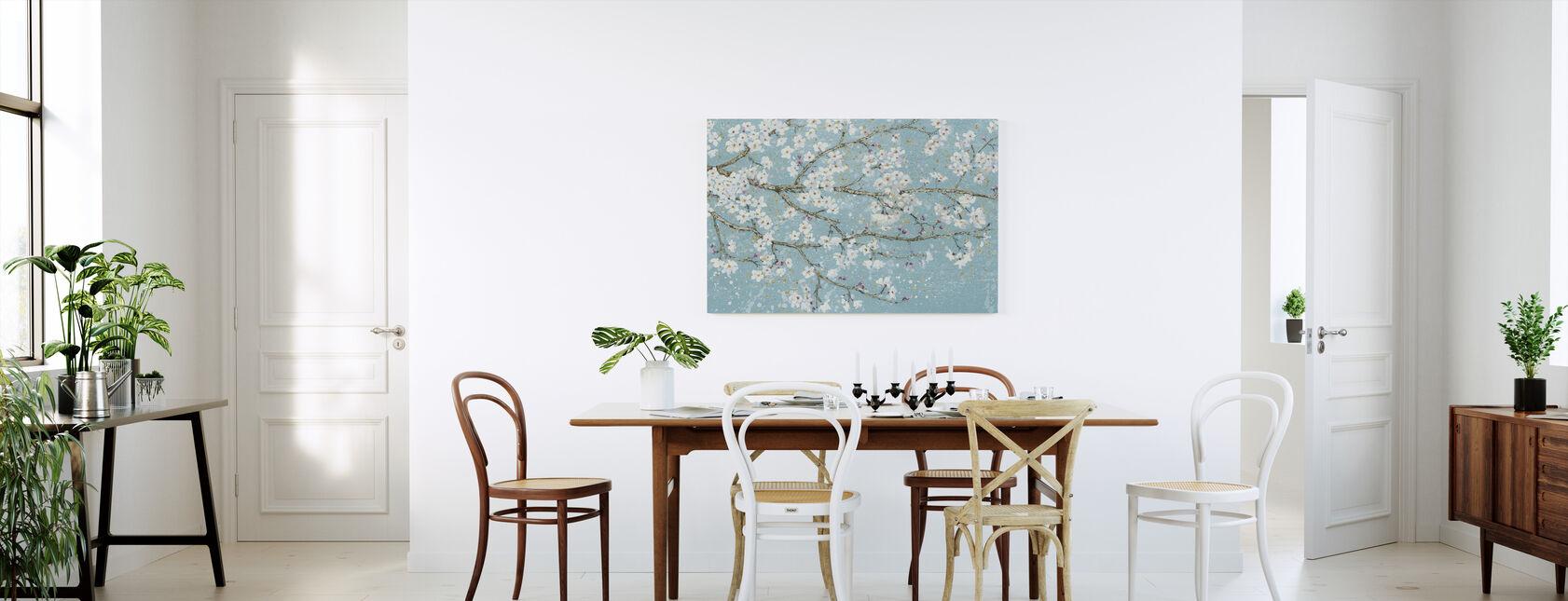 April Breeze I Teal - Canvas print - Keuken