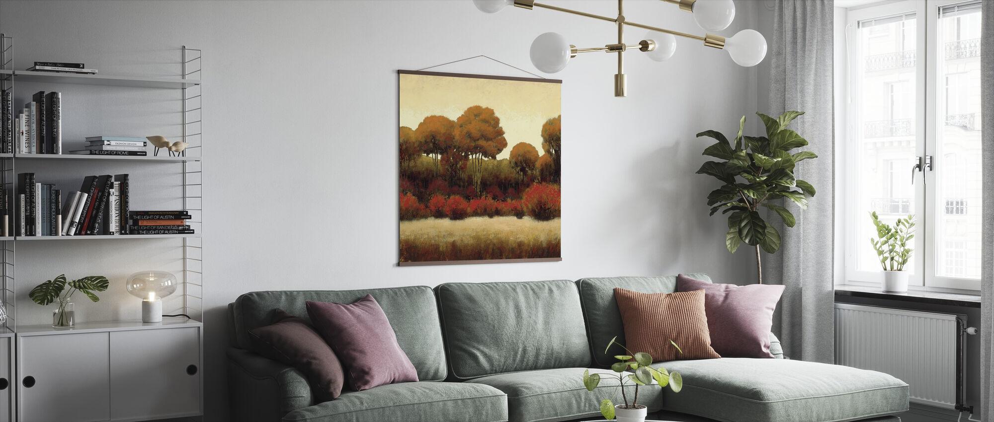 Syksyn metsä - Juliste - Olohuone