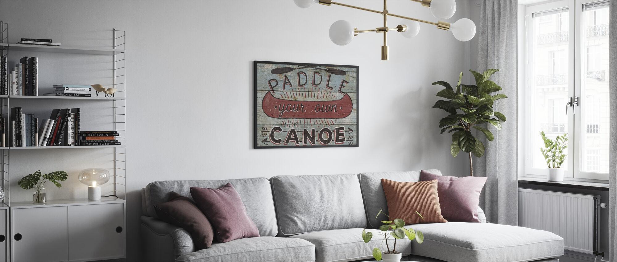 Cabin Fever II - Framed print - Living Room