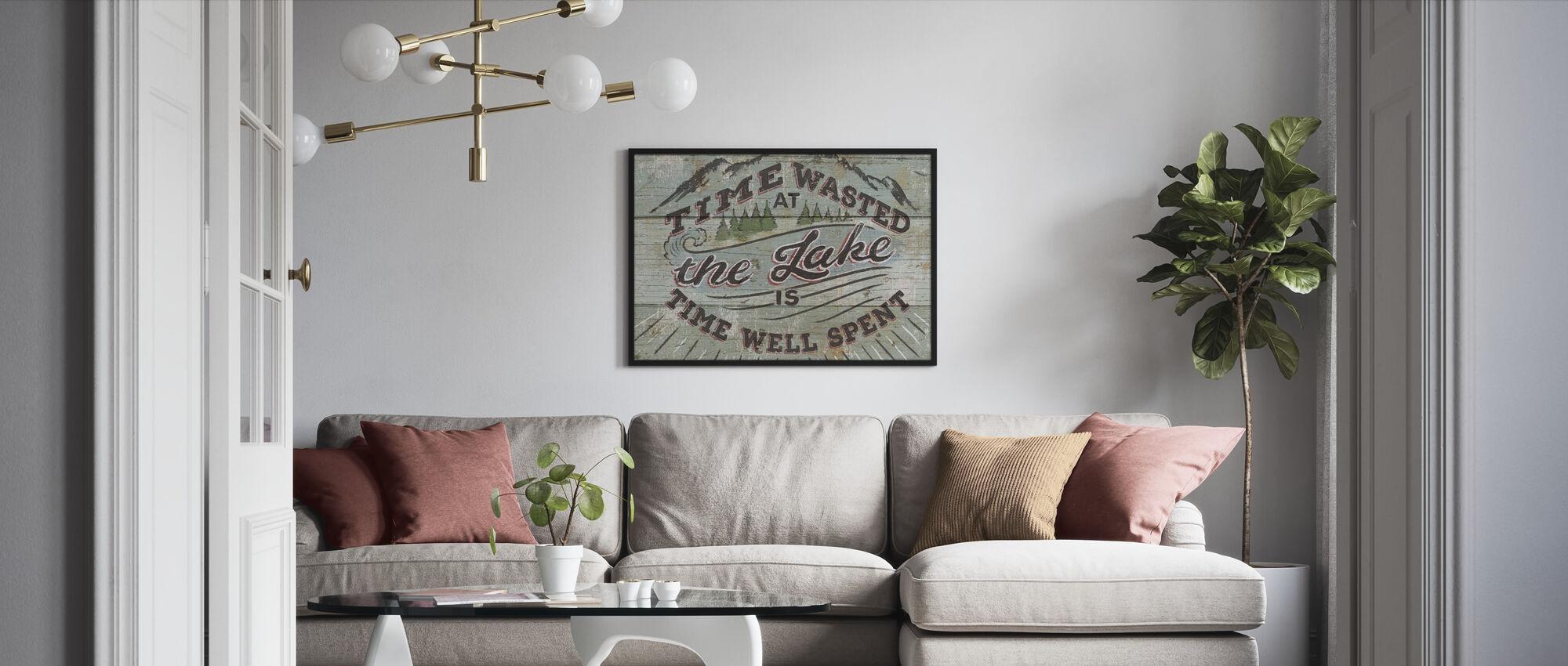 Cabin Fever III - Framed print - Living Room