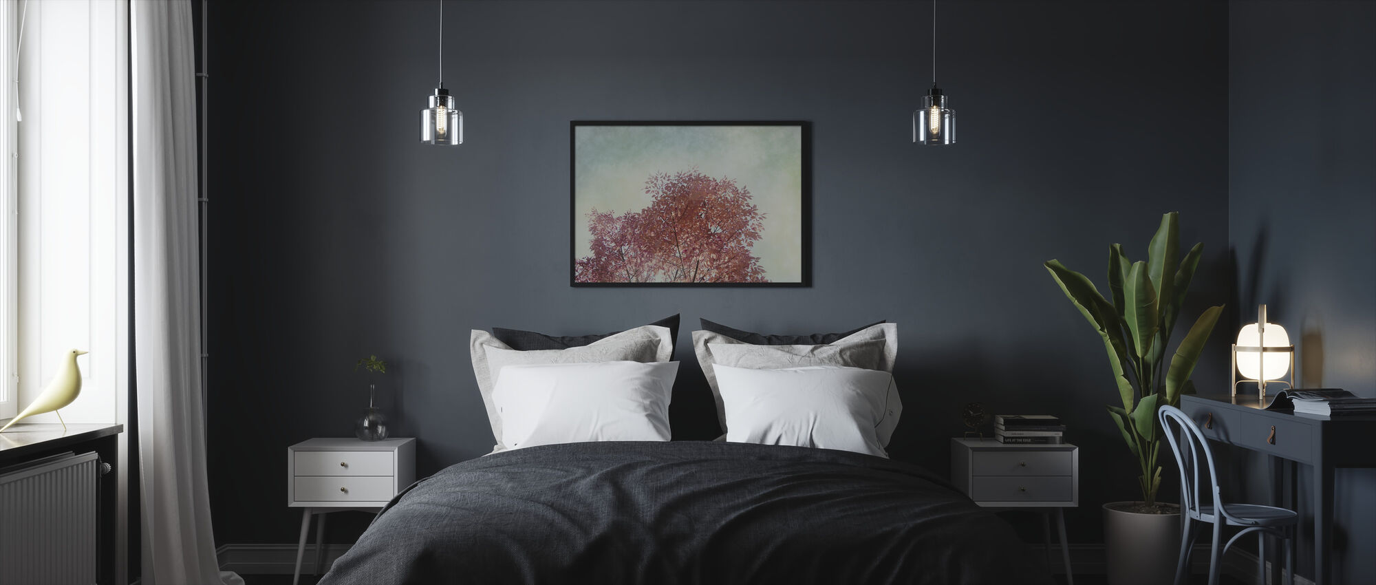 Looking Up 3 - Framed print - Bedroom