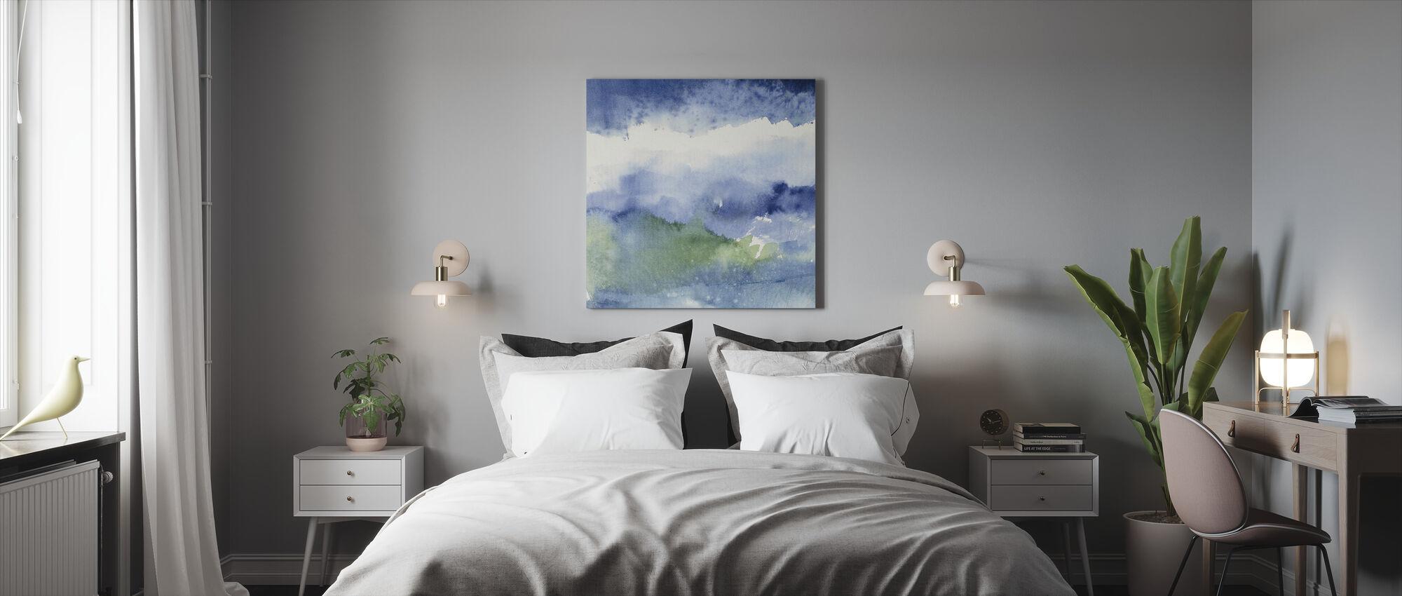 Minuit au lac 2 - Impression sur toile - Chambre