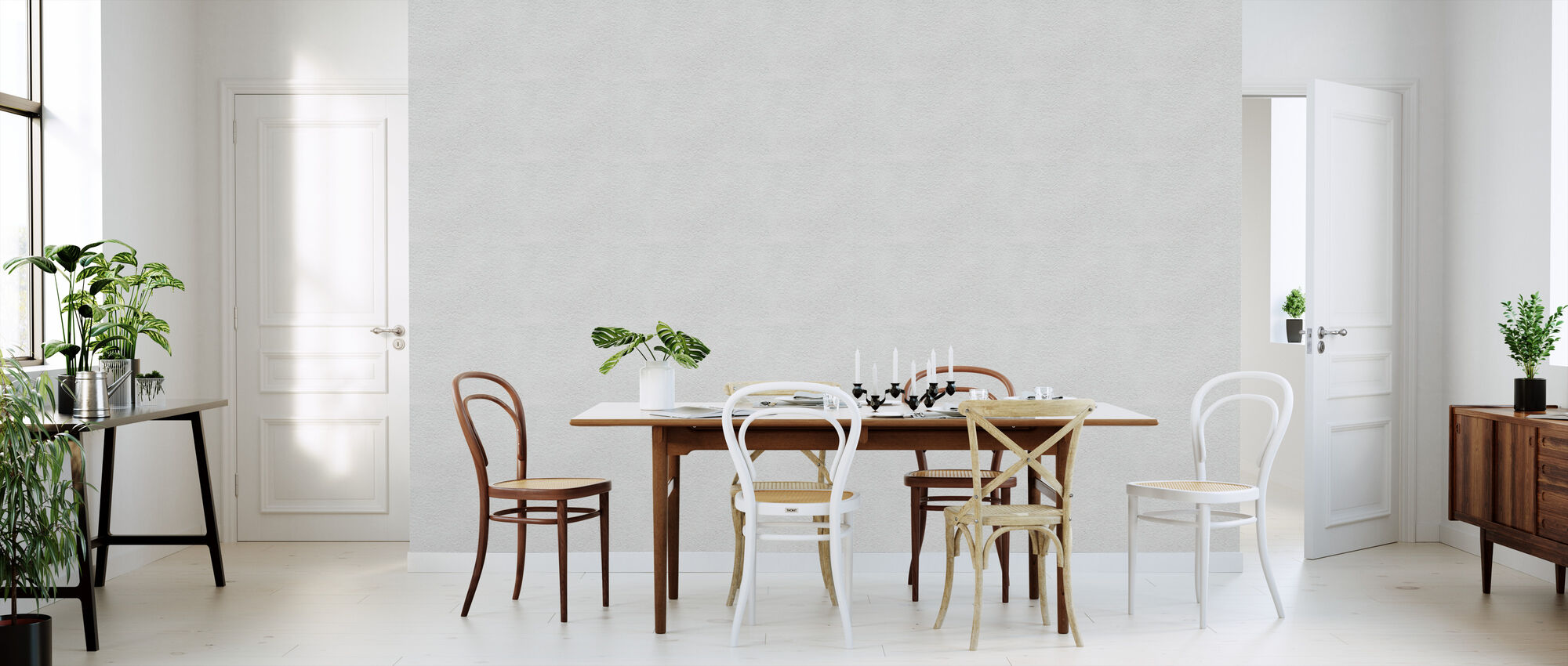 white concrete texture eine tapete f r jeden raum und jedes ambiente photowall. Black Bedroom Furniture Sets. Home Design Ideas