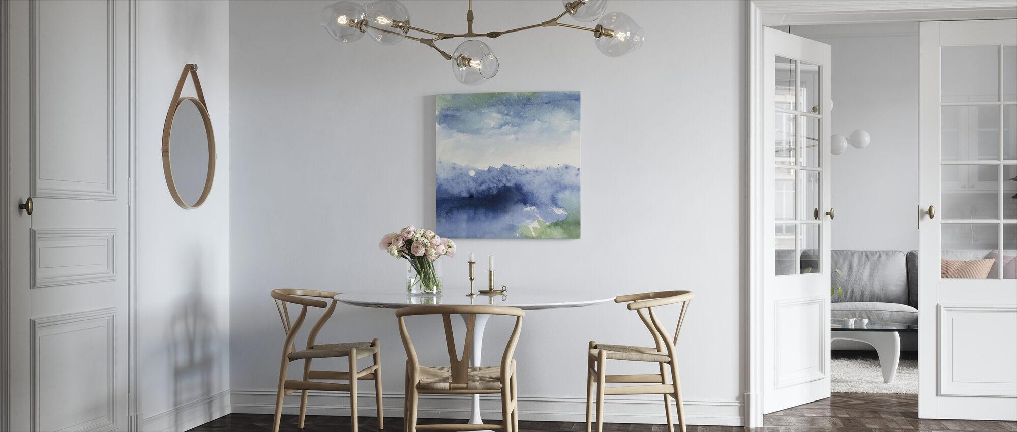Middernacht aan het meer - Canvas print - Keuken