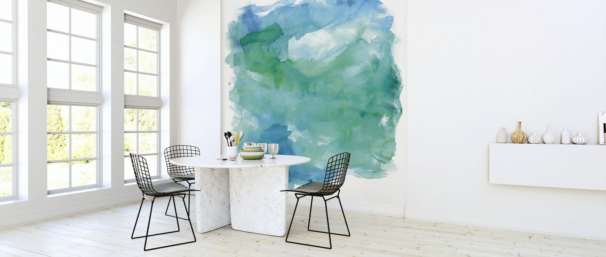 Zee Glas - Behang - Keuken