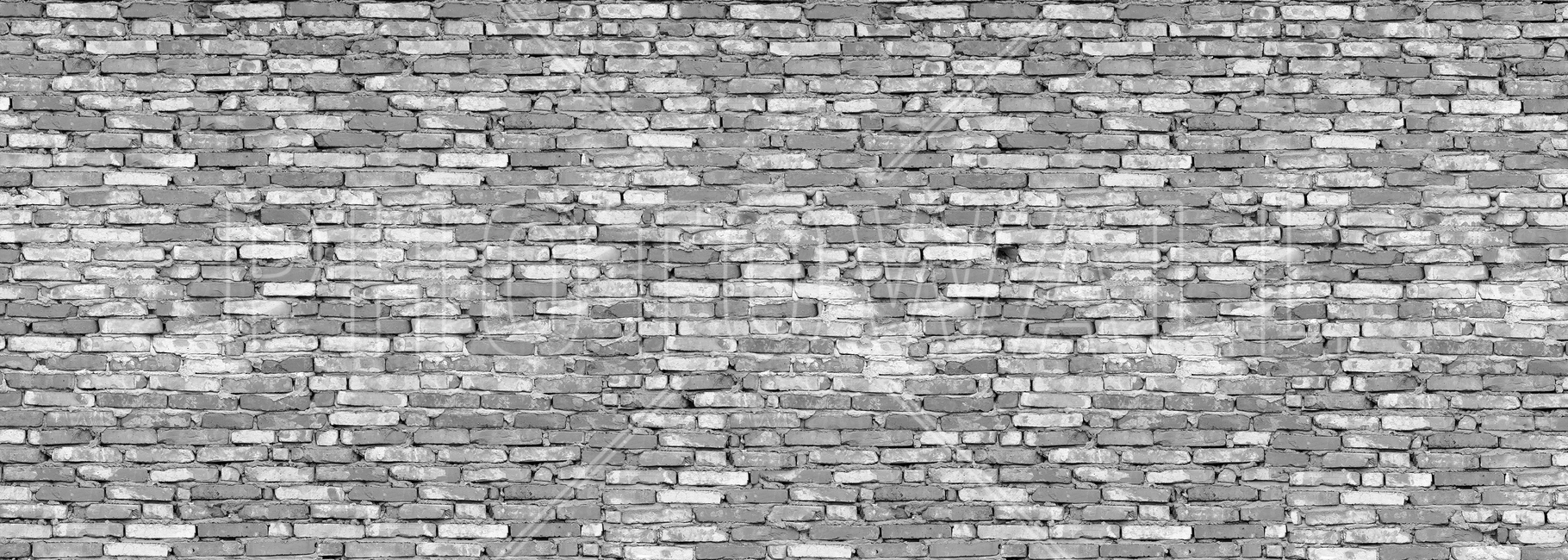 Old Brick Wall - Grey Fototapeter & Tapeter 100 x 100 cm