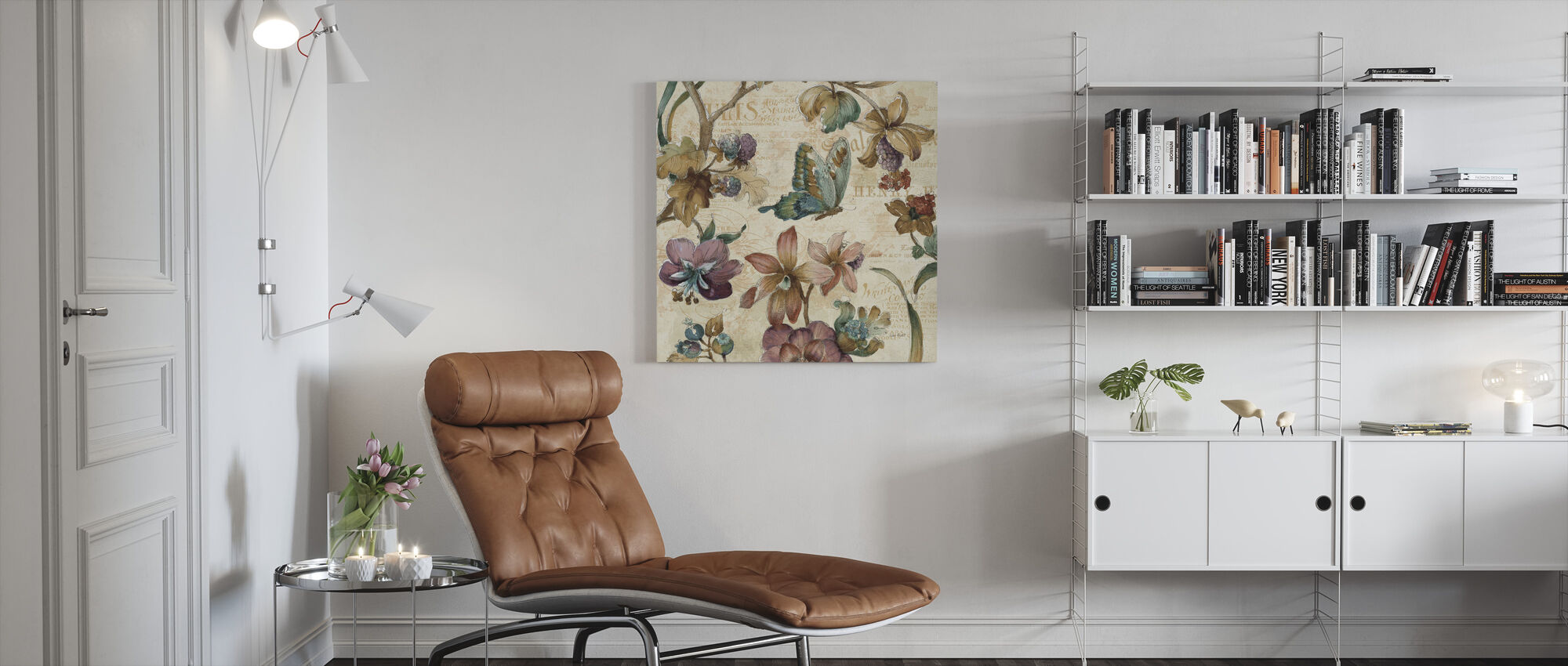 Een Tuin Moment - Canvas print - Woonkamer