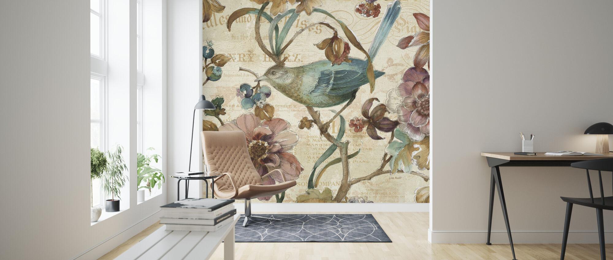 A Garden Moment 2 - Wallpaper - Living Room