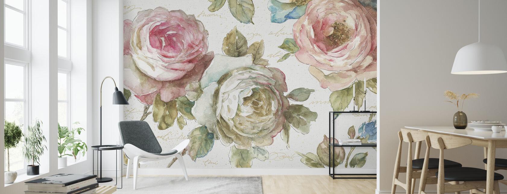 Poeme DAmour - Wallpaper - Living Room