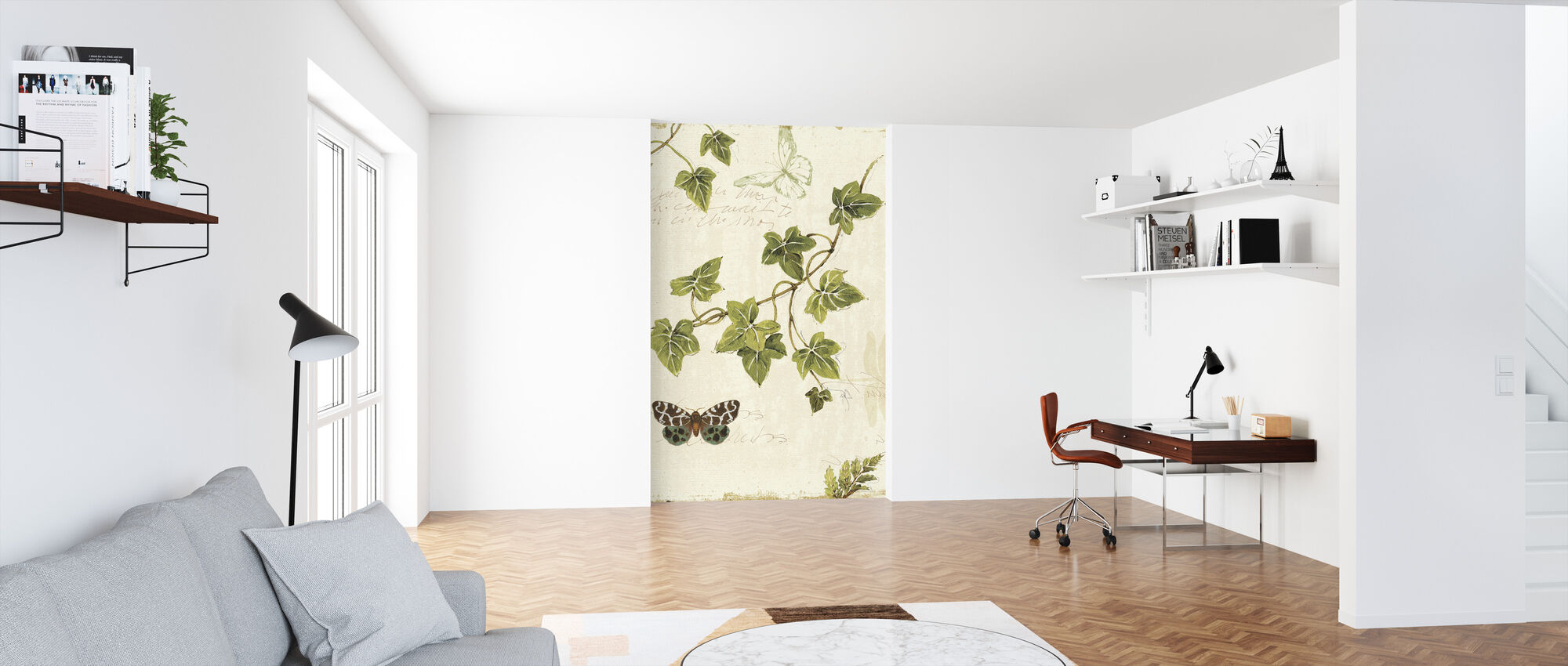Ivies and Ferns 2 - Wallpaper - Office