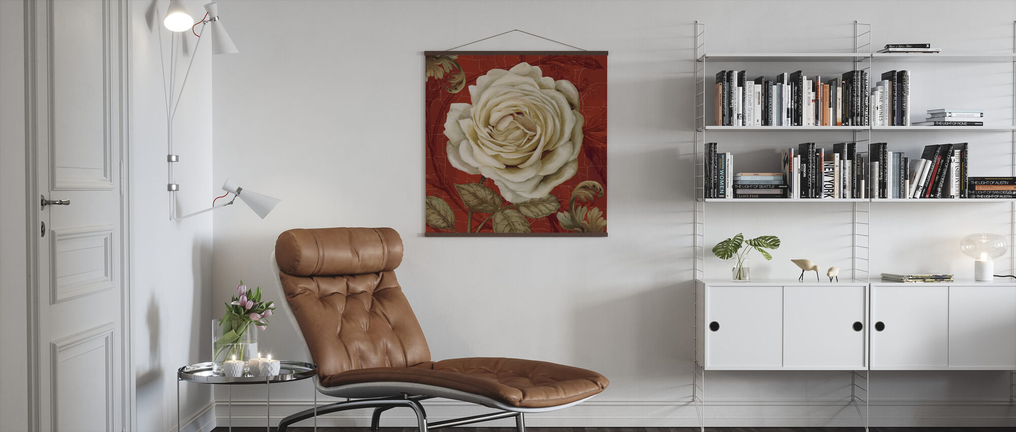 Red Bourgeoisie 2 - Poster - Living Room