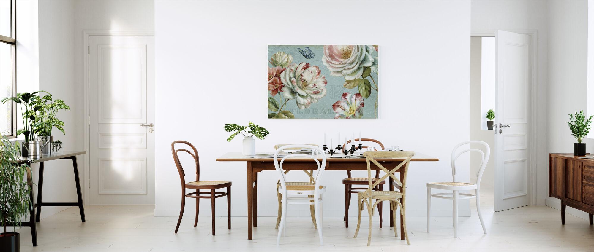 Lente Romance - Canvas print - Keuken