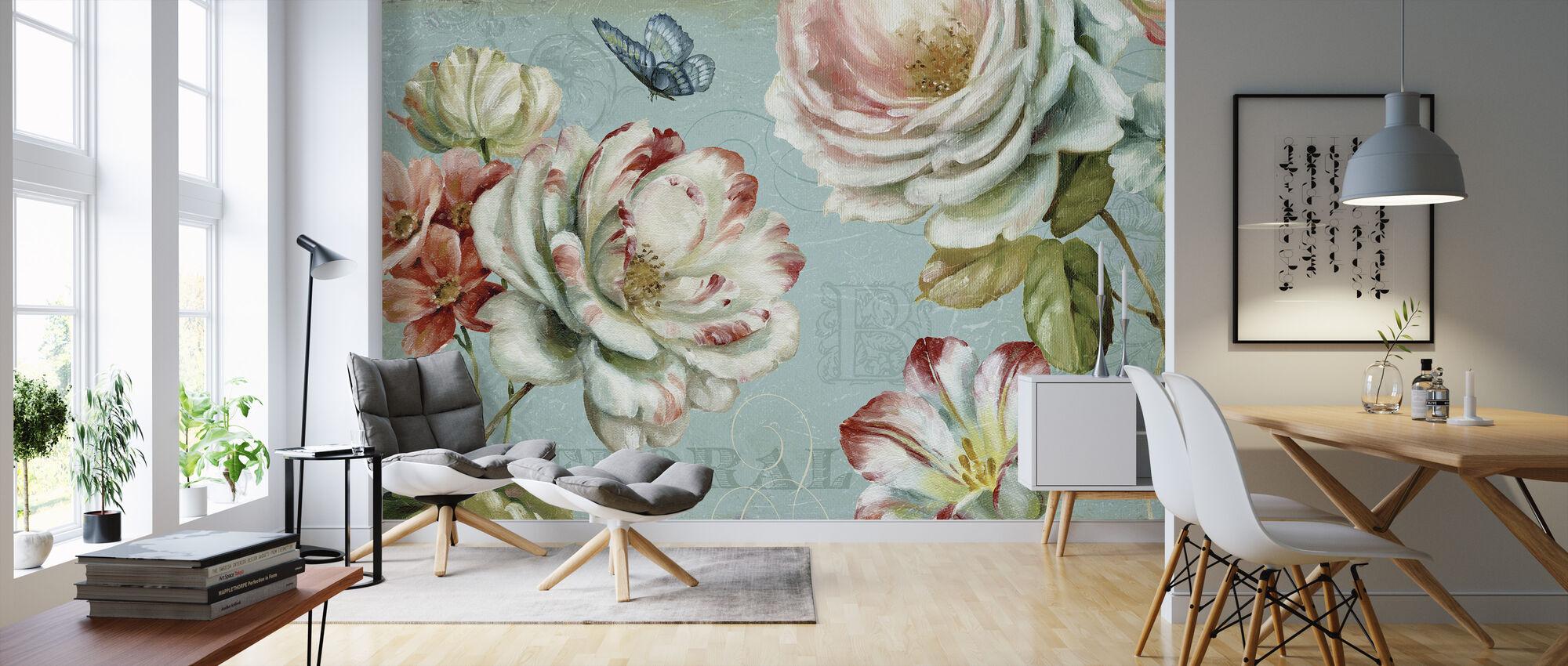Spring Romance - Wallpaper - Living Room