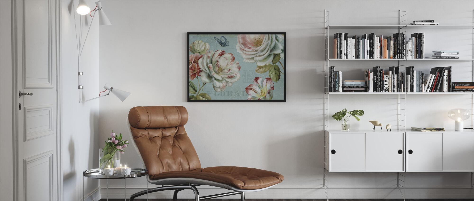 Kevät Romanssi - Kehystetty kuva - Olohuone