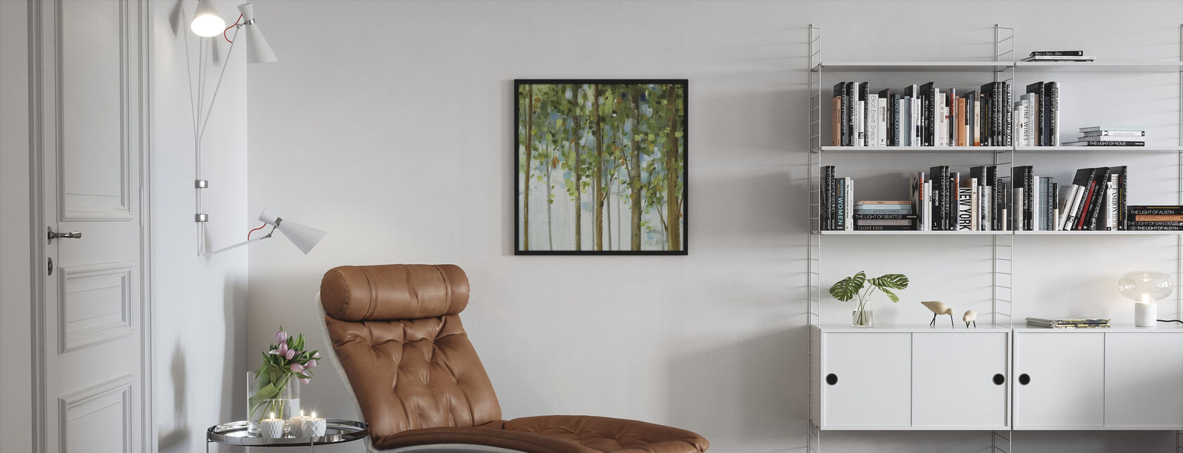 Forest Study 2 - Framed print - Living Room