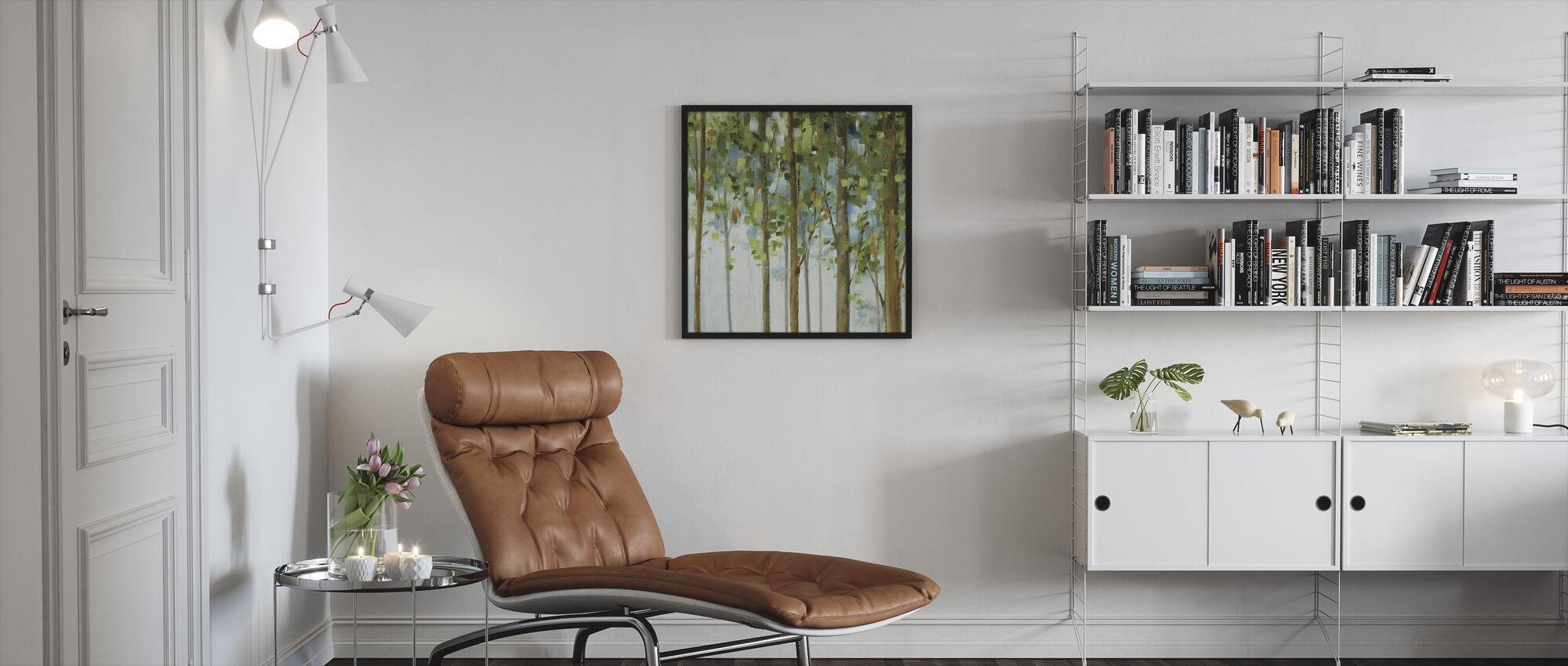 Forest Study 2 - Framed print - Living Room
