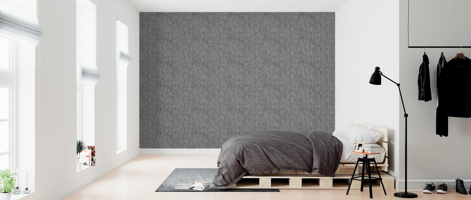 Mörk betong textur - Tapet - Sovrum