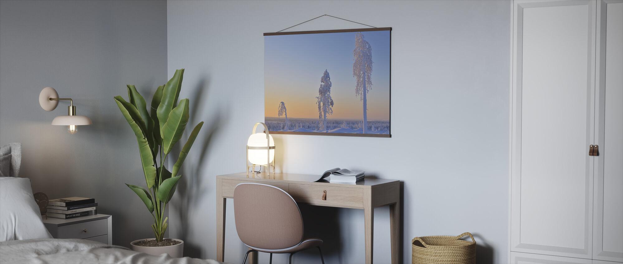 Ostrobothnia in Winter Dress - Poster - Office
