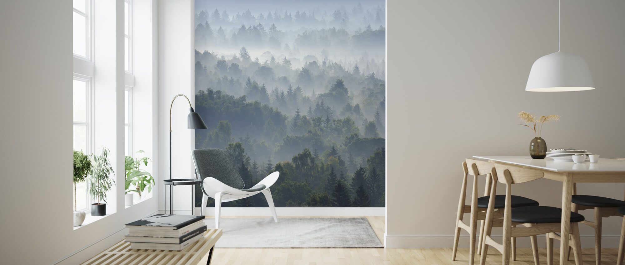 Peaceful Morning - Wallpaper - Living Room