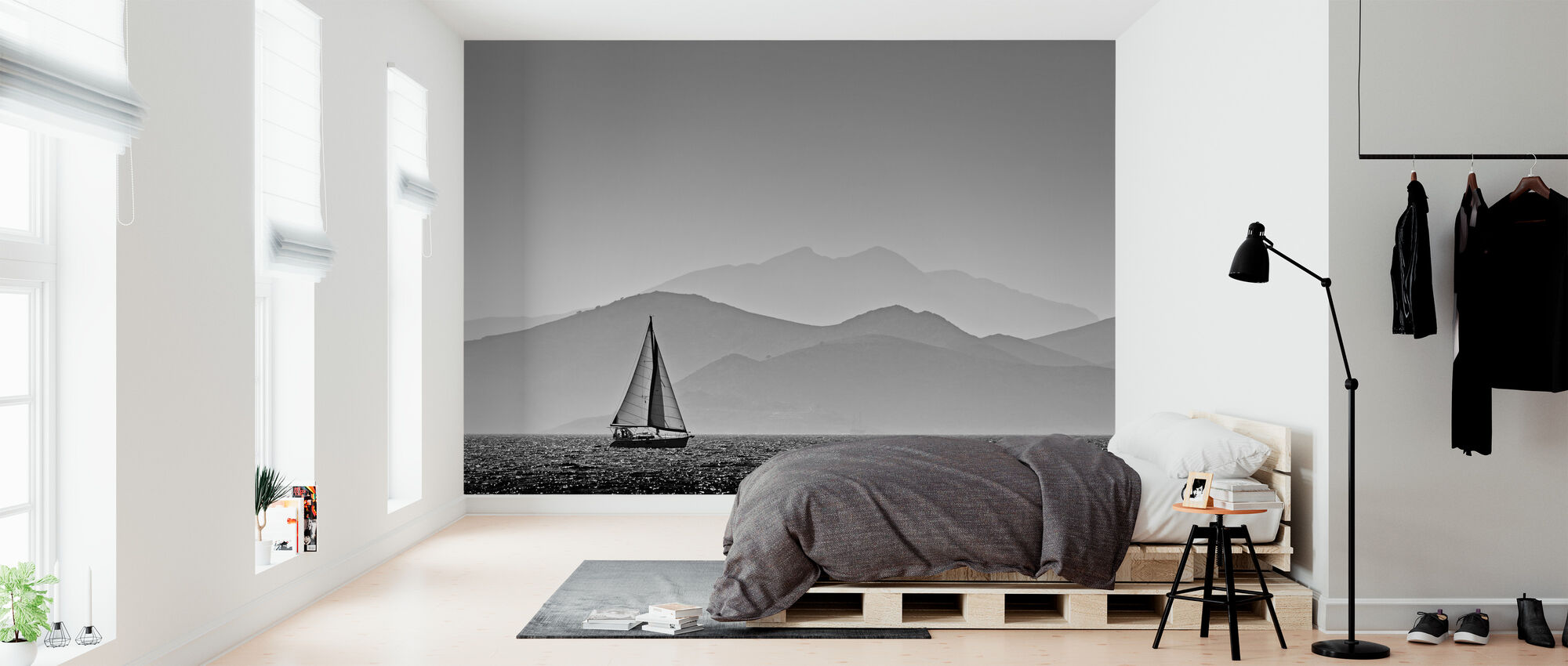 Sailing - Wallpaper - Bedroom