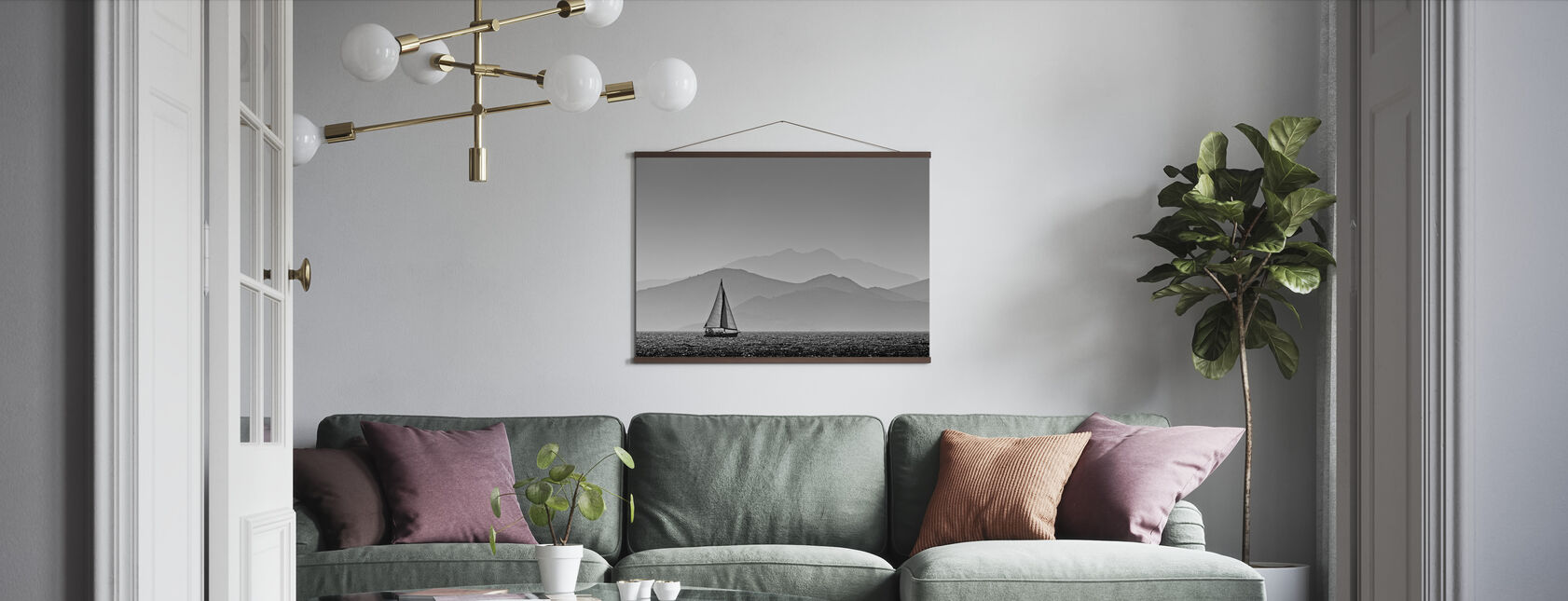 Sailing - Poster - Living Room