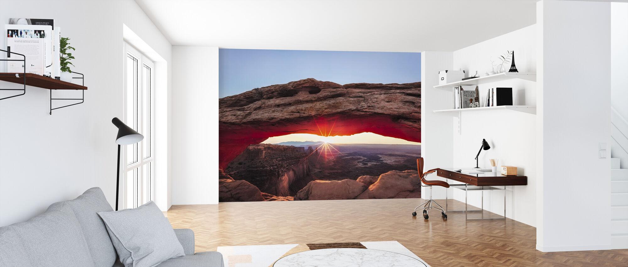 Sunset Crest - Wallpaper - Office