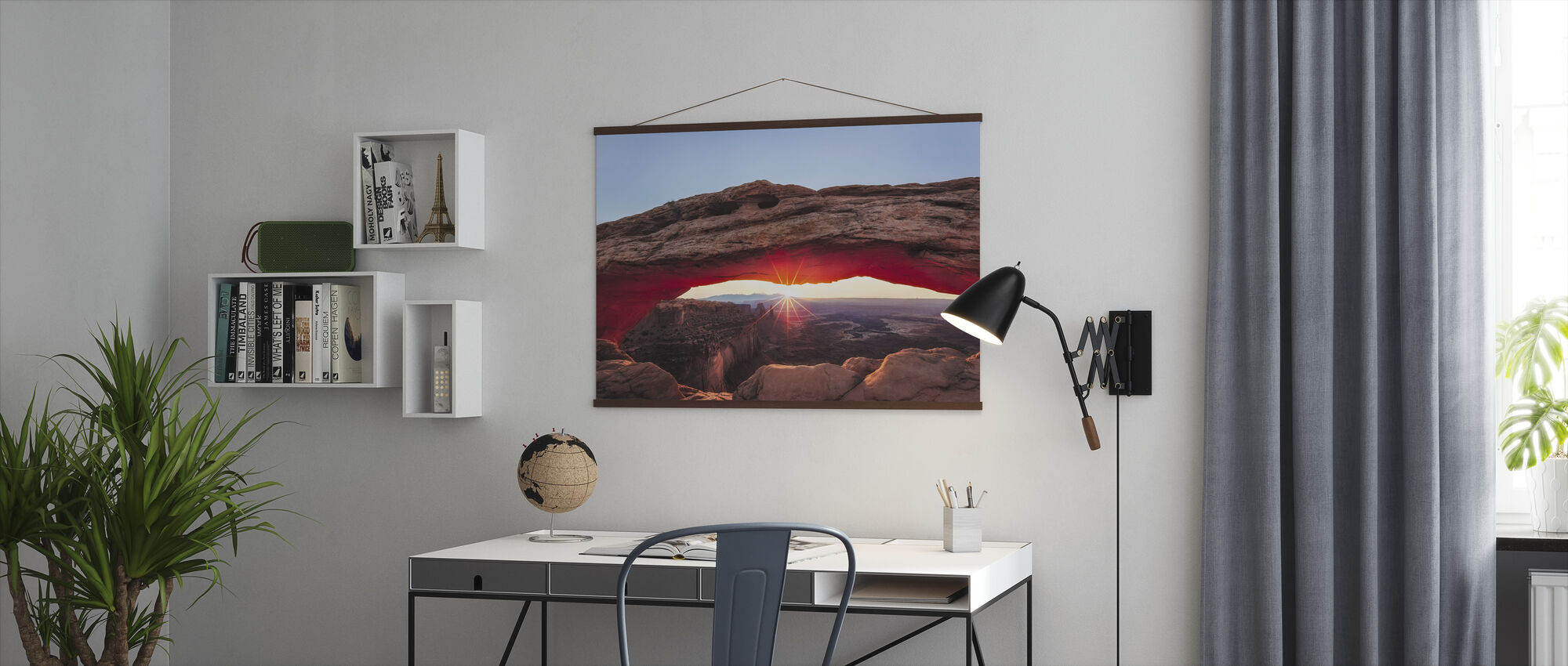 Sunset Crest - Poster - Office