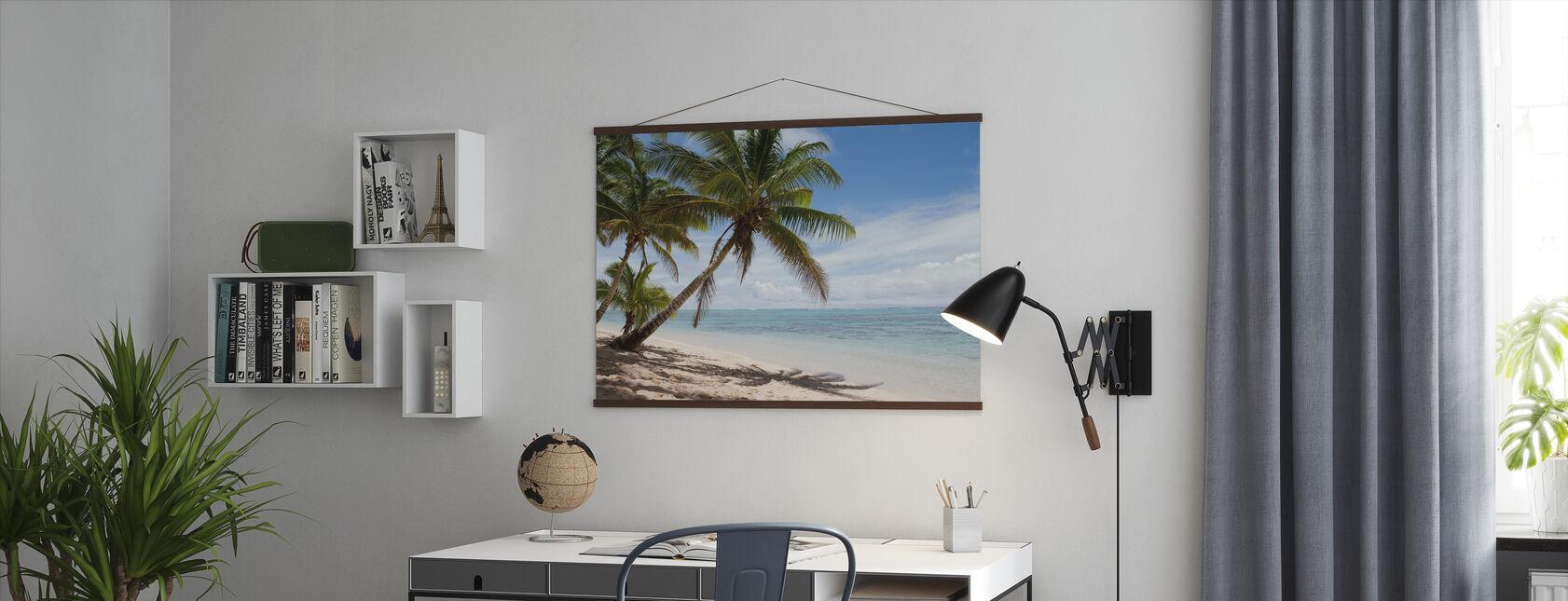 Tropisch strand - Poster - Kantoor