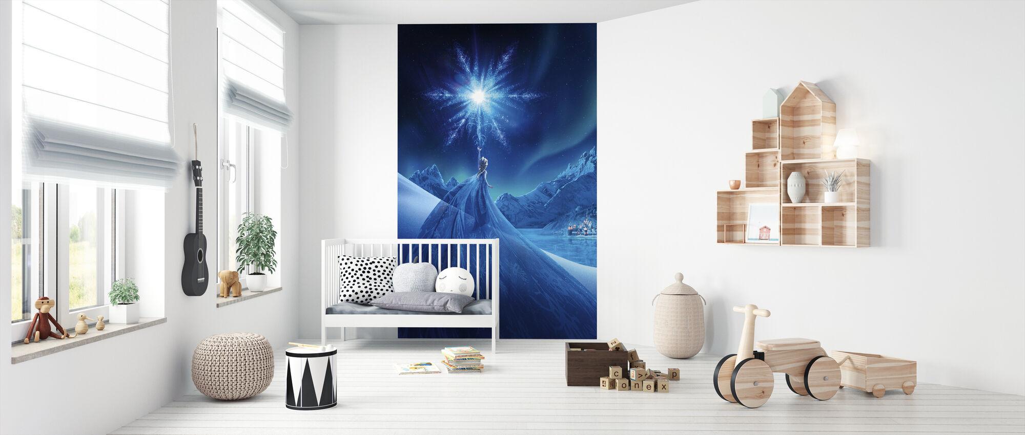 Frosne - Magi af nordlyset - Tapet - Babyværelse