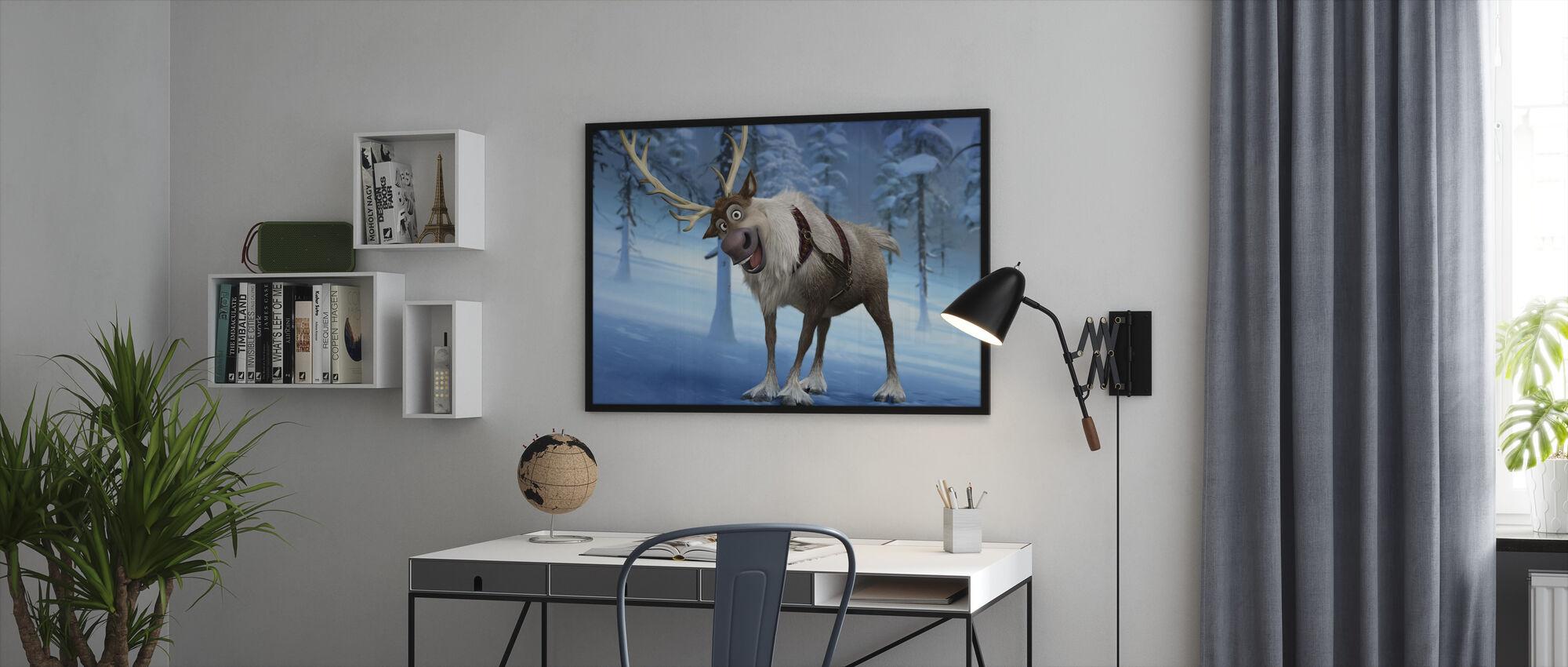 Jäätynyt - Sven - Kehystetty kuva - Toimisto