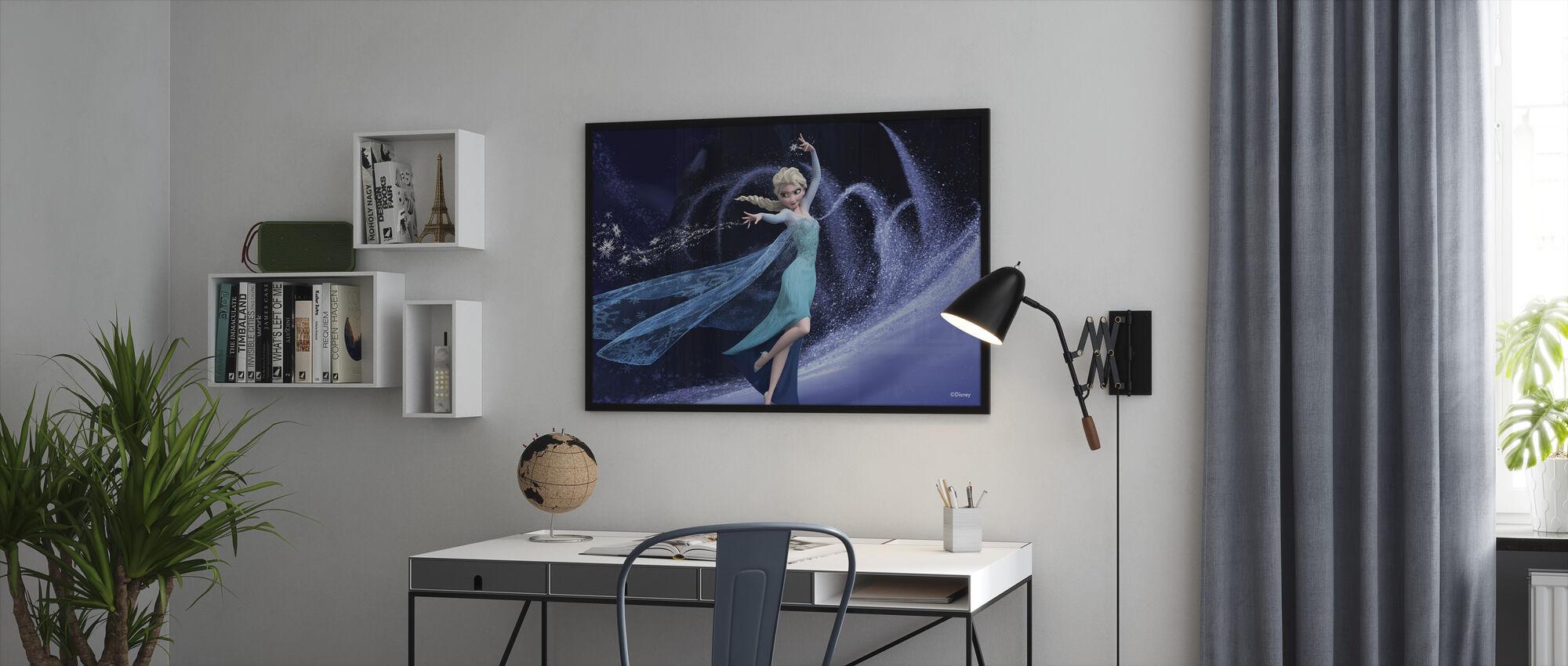 Jäätynyt - Elsa ja hänen taikavoimansa - Kehystetty kuva - Toimisto